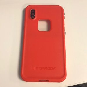 LifeProof Accessories - LifeProof FRE iPhone X (10) Red Grey Case e21e75a01